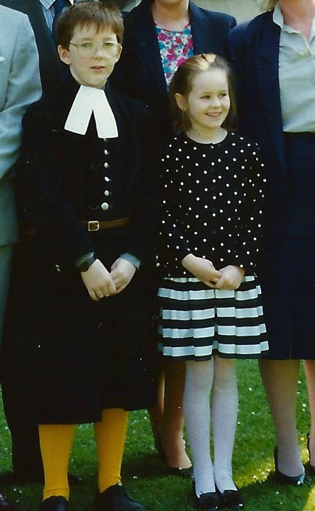 015 DJ QEH uniform with Alix - Ch 4: QEH: The Early Years