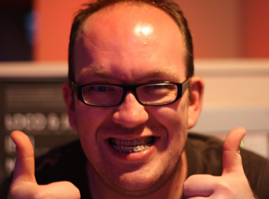 Dan Braces thumbs up 1024x756 - Ch 45: Life's Little Challenges