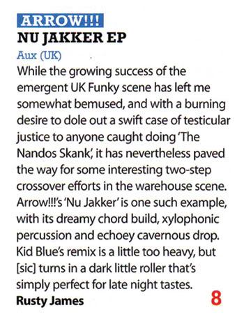 Aux – Nu Jakker EP review (iDJ)