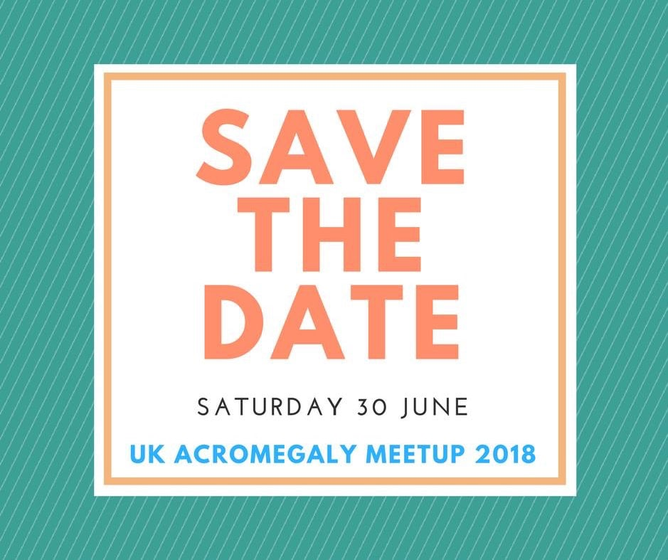 27654571 10157080065572589 7861321514737641934 n - UK Acromegaly Meetup 2018